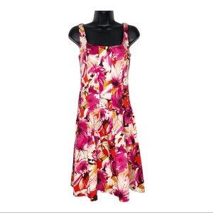 AMERICAN LIVING drop waist floral sundress | 8
